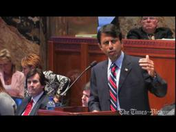 Louisiana legislature video: Bobby Jindal