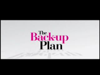 Movie trailer: 'The Backup Plan'