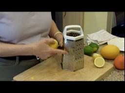 Judy's Kitchen Video: Lemon Zest