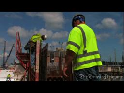 New Orleans 100-year flood protection progress video