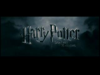 Movie trailer: 'Harry Potter and the Deathly Hallows: Part 1