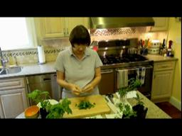 Judy's Kitchen: What is chiffonade?