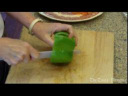 Judy's Kitchen: Easy way to clean bell peppers