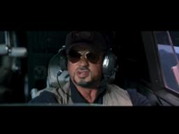 'The Expendables' movie clip: 'Cockpit'