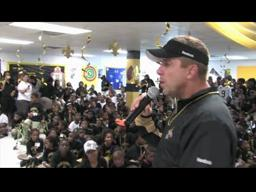 Sean Payton Visits Williams School