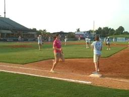 America's Junior Miss softball game