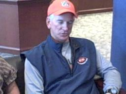 Auburn football coach Tommy Tuberville