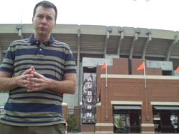 Auburn beat writer Evan Woodbery