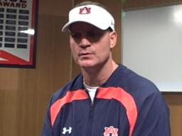 Auburn head coach Gene Chizik on Nov. 4
