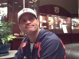 Auburn head coach Gene Chizik on Oct. 28