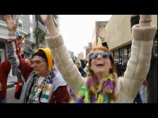 Joe Cain parade draws big Mardi Gras crowd