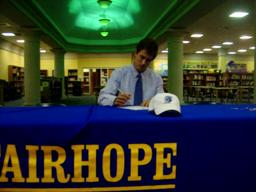 Fairhope's Tyler Baggerly to play for Coast Guard