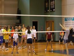 Gulf Shores High volleyball camp