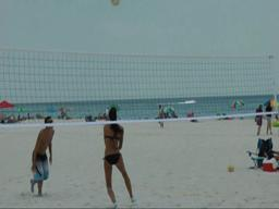 Beach volleyball grand championships