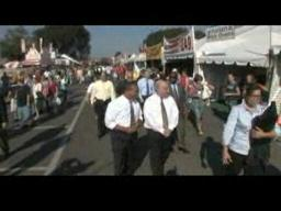 Governor Deval Patrick visits The Big E