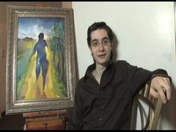 Stass Shpanin, talented young artist, discusses his work