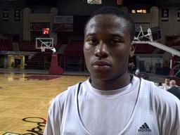 Interview with UMass guard Ricky Harris