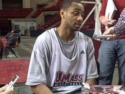 Interview with UMass point guard Chris Lowe