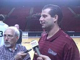 Q&A with UMass Basketball Coach Derek Kellogg