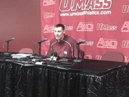 "UMass forward Tony Gaffney: ""We got the monkey off our back"""