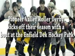 Pioneer Valley Roller Derby is back in action!