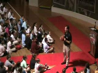 UMASS basketball coach is Keynote Speaker at MVP's of Character