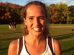 Amherst girls' cross-country records consecutive wins 100, 101 and 102