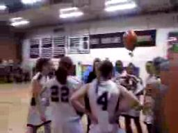 Raw video: Alyssa Leonard of Amherst scores her 1,000th career point