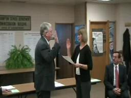 Easthampton Swearing in officials