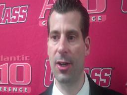 Video: UMass coach Derek Kellogg following 72-58 loss to Charlotte
