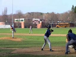 Amherst's Kevin Ziomek on opening day
