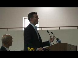 Boston Red Sox GM Theo Epstein speaks at WNEC