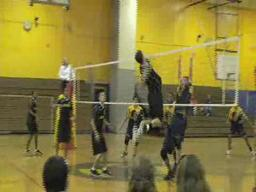 Central boys volleyball