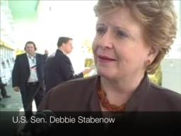 U.S. Sen. Debbie Stabenow talks Democratic nomination race