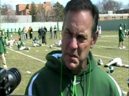 Spartans' Mark Dantonio: 'We will be as good as our senior clas