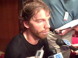 Red Wings forward Mikael Samuelsson: Datsyuk, Hossa and Holmstrom still contributing despite slumps