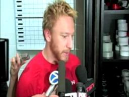 Marian Hossa discusses Game 1 win