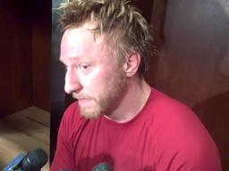 Red Wings forward Marian Hossa discusses scoring slump