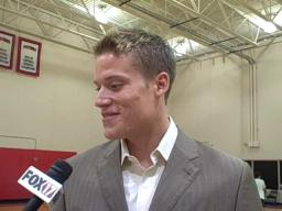 Pistons' Jonas Jerebko excited to support Red Wings