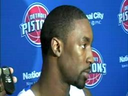 Ben Gordon thinks he and Rip Hamilton will be able to play together