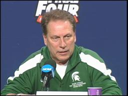 Spartans' Tom Izzo defends Big Ten