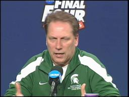 Spartans' Tom Izzo not against players leaving college early