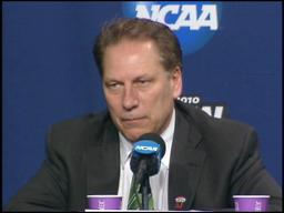 Tom Izzo: Spartans 'physically beaten' out of game vs. Butler