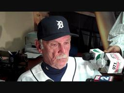 Tigers manager Jim Leyland: Dontrelle Willis 'impressive' on mound, continues to progress