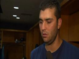 Teammates celebrate Armando Galarraga's 'perfect' game