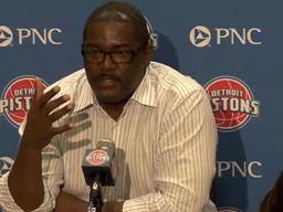 Joe Dumars discusses the type of players he likes