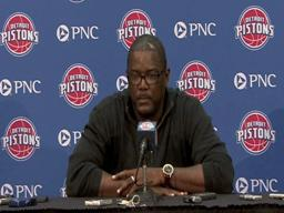 Joe Dumars discusses first-round pick Greg Monroe