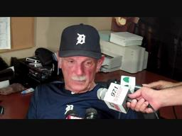 Tigers' Jim Leyland not worried about Jose Valverde's struggles
