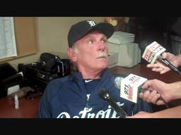 Tigers manager Jim Leyland second guesses not pinch-hitting for catcher Gerald Laird