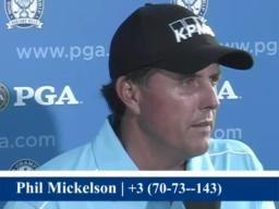 Mickelson: Course tough, but everyone has to play it